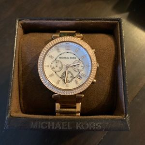 Rose Gold Michael Kors Watch